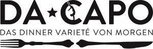 Dacapo Logo schwarz