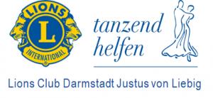 Lions Club Darmstadt Justus von Liebig tanzend helfen Logo